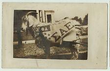 RARE - RPPC Cornell University Mascot Goat Fraternity 1910 Real Photo Postcard