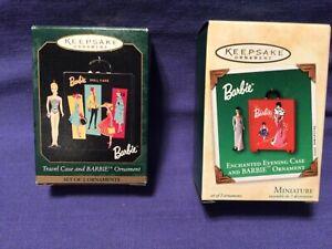 Hallmark Keepsake Barbie Travel Case, Enchanted Evening Travel Case Ornaments