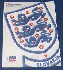 ENGLAND v SLOVAKIA  28.03.2009