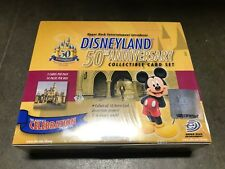 DISNEY OFFICIAL DISNEYLAND 50TH ANNIVERSARY 2005 UPPER DECK SEALED BOOSTER BOX