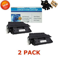 2 PK C4127X 27X Toner Cartridge Compatible For HP LaserJet 4000n 4050t 4000tn