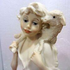 "Giuseppe Armani ""Shepard Boy with Lamb"" 10"" figure, org box, perfect condition"