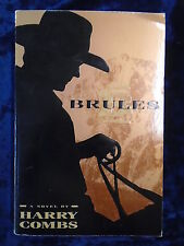 BRULES by HARRY COMBS - DELACORTE 1993 - P/B*PROOF*UK POST £3.25