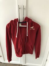 Hollister Women's XS red Hoodie- Excellent Condition