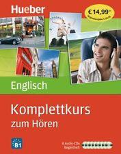 Englisch Sprachkurs - Sonderausgabe - Komplettkurs zum Hören mit 8 Audio-CDs