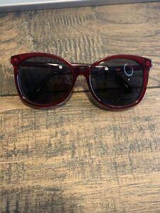 Authentic COACH HC8270U - 555787 Sunglasses Burgundy w/ Dark Grey 57-16-140 G131