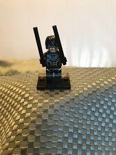 DC Universe LEGO Minifigure Superhero Dick Grayson Night Wing Robin Batman, New
