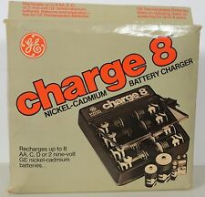General Electric GE Charge 8 Rechargeable Battery Charger NiCad