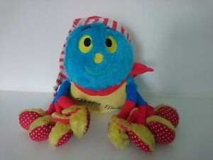 Woolly and Tig Spider Plush Soft Toy Sleepy Time Rare Working 2014 Singing Light