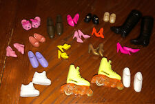 Huge Lot Of Vtg Barbie Doll Shoes Ken Skipper Kelly Stacie Skates Boots