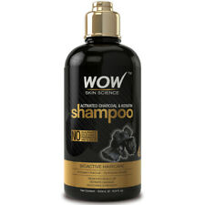 WOW Keratin Treatment & Activated Charcoal Shampoo - For Hair Repair & Smoothing