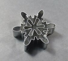 NEW One Piece Multi-Pattern Snowflake Cookie Cutter #55