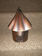 Copper Birdhouse For Decoration