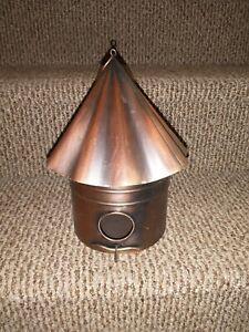 Copper Birdhouse For Decoration