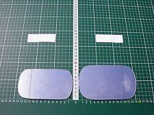 Außenspiegel Spiegelglas Ersatzglas Fiat 124 Europa Spider 1966-85 Li od Re asph