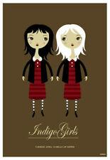 Scrojo Indigo Girls Belly Up Aspen Colorado 2010 Poster Indigo_1004