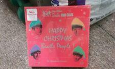 BOX SET THE BEATLES Christmas Records (7 x 45's, Colored Vinyl) NEW, read descri