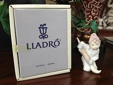 "Lladro #5938 ""Elf Ornament"" - Mint Condition with Original Box"