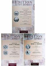 Hamburg Münzen und Medaillen, Gaedechens drei Bände 920 S. Standard- Zitierwerk