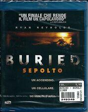 Buried. Sepolto (2009) Blu-ray NUOVO Rodrigo Cortes, Ryan Reynolds, Erik Palladi