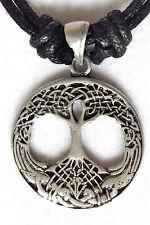 Celtic Tree of Life Pewter Pendant mens boys girls womens 30mm  P0557