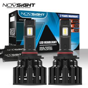 NOVSIGHT 9005 HB3 100W 20000LM LED Headlight Bulbs Hi/Lo Beam 6000K White Lamps