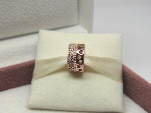 NEW Pandora ROSE Hearts of Pandora Charm #787415CZ Box Choice READ about GWP