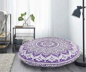 Floor Cushion Cover Large Floor Pillows Indian Mandala Meditation Pillow Cover