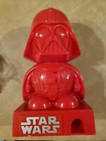 """Star Wars Darth Vader M&M/Candy Dispenser Red Rare Lights and Sounds 9""""untested"""