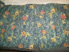 Sheridan Australia Twin Bed Skirt Floral Green Red Yellow Dust Ruffle