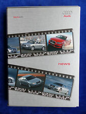 Audi News 2005 - A3 RS4 A8 - Media-Info Pressemappe press-kit 09.2005