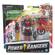 Power Rangers Beast Morphers - Cruise Beastbot - Hasbro Action Figure Toy Red