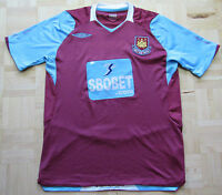 WEST HAM UNITED shirt by UMBRO 2008-2009 /adult/purple/ M