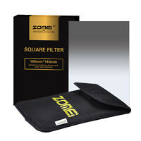 ZOMEI 100mm Gradual Neutral Density Square Filter GND16 for Cokin Z Series