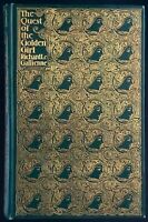 Quest of the Golden Girl, by Richard Le Gallienne,1896 1st -Will Bradley binding