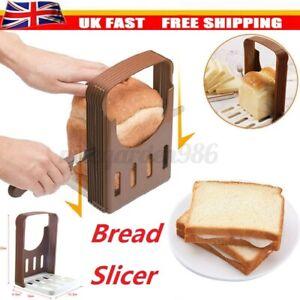 Bread Loaf Toast Maker Kitchen Slicer Cutter Sandwich Guide Mold Slicing