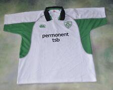 Canterbury New Zealand Permanent TSB Green Irish Rugby Jersey Size 2XL.