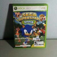 Sega Superstars Tennis Xbox 360 Video Game Live Arcade Collision Combo Rated E