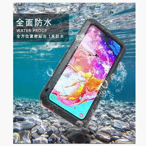 Gorilla Glass Metal Waterproof Heavy Duty Shockproof Case For Samsung Galaxy A70