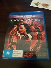 Hunger Games Catching Fire (Blu ray) vgc free post