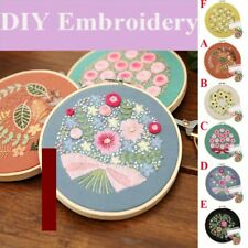 Embroidery Starter Full Range of Kit with Beautiful Pattern Stamped Embroidery
