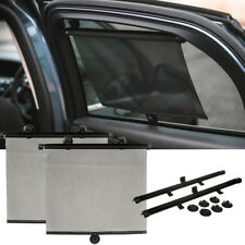 LIVIVO 2 X 55CM CAR WINDOW SUN SHADE ROLLER BLIND SCREEN PROTECTOR PROTECTION