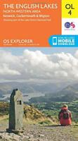 OS Explorer OL4 The English Lakes - North Western area (OS Explorer Map) by Ordn