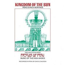 Kingdom of the Sun Fiestas of Peru by Various Artists CD Nonesuch Explorer