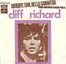 CLIFF RICHARD – Goodbye Sam, Hello Samantha (1970 VINYL SINGLE RARE BELGIUM PS)