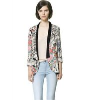 2016HOT Lady Blazer Coat Vintage Retro Women Europe Loose Jacket Kimono Cardigan