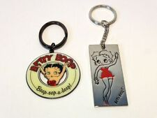 BETTY BOOP KEY CHAINS LOT #11 TWO PIECE SET