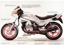 1983 Moto Guzzi V65 Lario 4V original foldout brochure