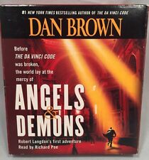 Dan Brown's Angels & Demons Audio CD Audiobook