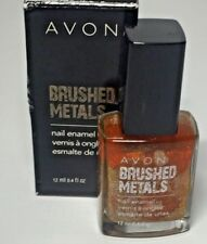 Avon Brushed Metal Nail Polish Enamel BURNISHED COPPER .4 Fl Oz New NIB